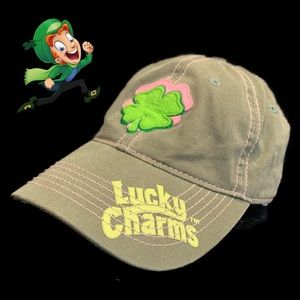 General Mills Lucky Charms Green & Pink Ladies Cap